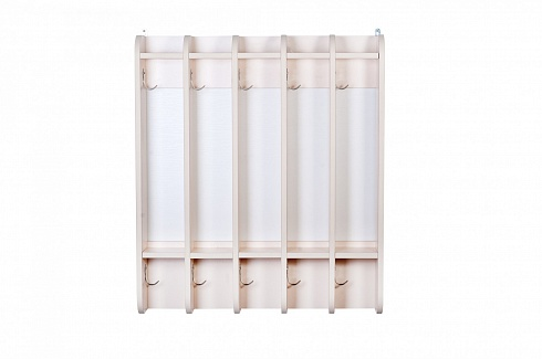 """CHISTYULYA"" (CLEANIE) 5-section hinge towel rack (700*140*800)"