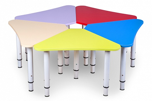 """ROMASHKA"" (DAISY WHEEL) Table Composed of 5 Components  (1070*1070*460)"